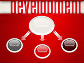 Development Word Cloud PowerPoint Template#4