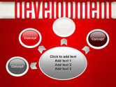 Development Word Cloud PowerPoint Template#7