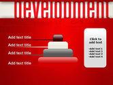 Development Word Cloud PowerPoint Template#8