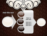Romantic Frame PowerPoint Template#17