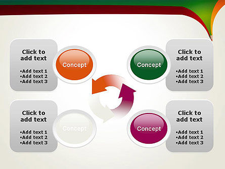 Creative Pencil Concept PowerPoint Template Slide 9