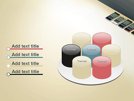 Series Smartphones PowerPoint Template Slide 12