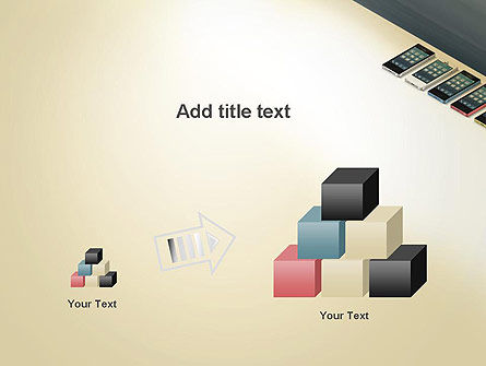 Series Smartphones PowerPoint Template Slide 13