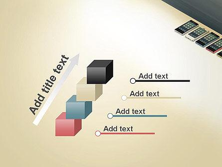 Series Smartphones PowerPoint Template Slide 14