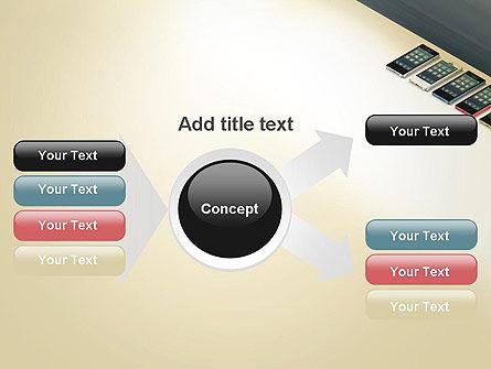 Series Smartphones PowerPoint Template Slide 15