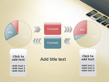 Series Smartphones PowerPoint Template Slide 16