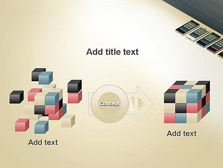 Series Smartphones PowerPoint Template Slide 17