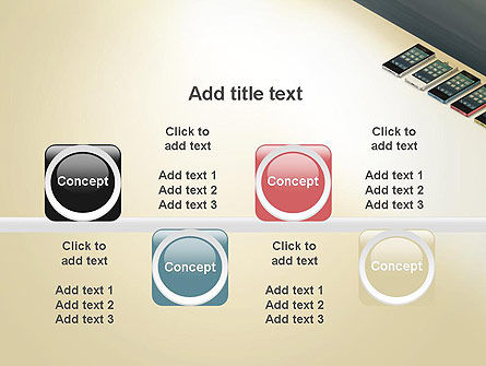 Series Smartphones PowerPoint Template Slide 18