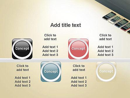 Series Smartphones PowerPoint Template Slide 18