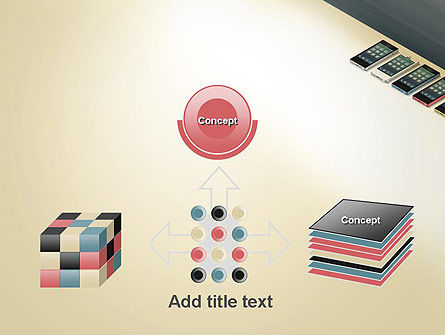 Series Smartphones PowerPoint Template Slide 19