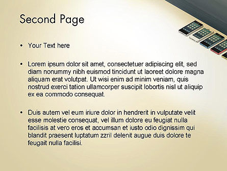 Series Smartphones PowerPoint Template Slide 2