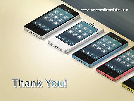 Series Smartphones PowerPoint Template Slide 20