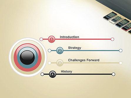 Series Smartphones PowerPoint Template, Slide 3, 12965, Careers/Industry — PoweredTemplate.com