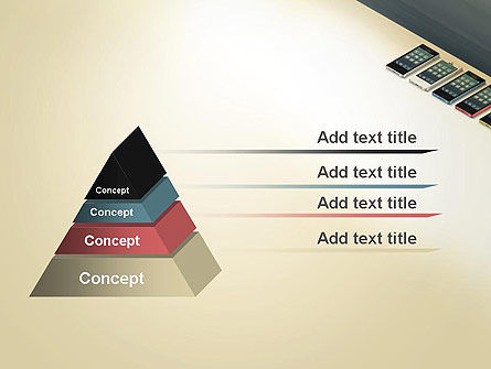 Series Smartphones PowerPoint Template Slide 4