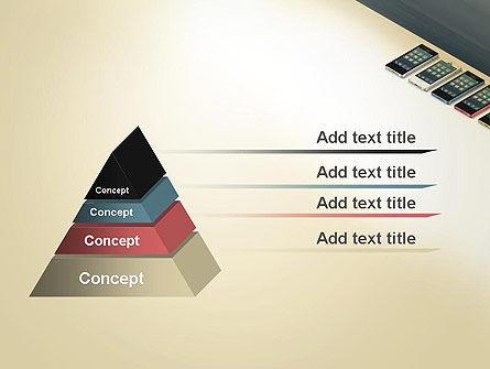 Series Smartphones PowerPoint Template, Slide 4, 12965, Careers/Industry — PoweredTemplate.com