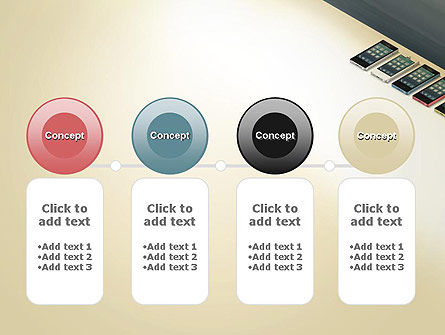Series Smartphones PowerPoint Template Slide 5