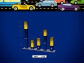 City Traffic Illustration PowerPoint Template#17