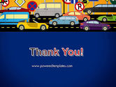 City Traffic Illustration PowerPoint Template#20