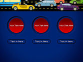City Traffic Illustration PowerPoint Template#5
