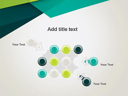 Abstract Folded Layers PowerPoint Template Slide 10