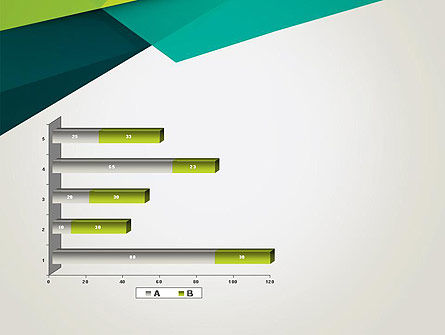 Abstract Folded Layers PowerPoint Template Slide 11