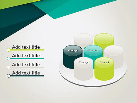 Abstract Folded Layers PowerPoint Template Slide 12