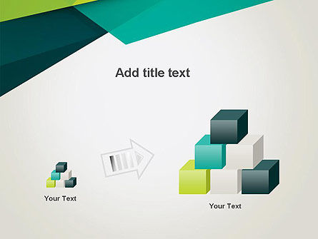 Abstract Folded Layers PowerPoint Template Slide 13