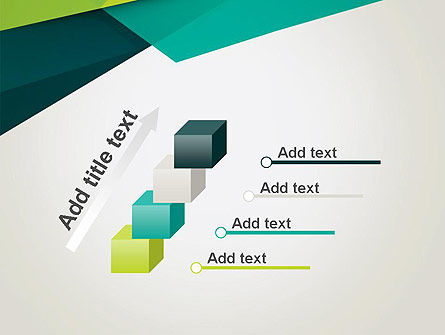 Abstract Folded Layers PowerPoint Template Slide 14