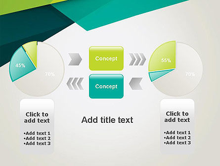Abstract Folded Layers PowerPoint Template Slide 16