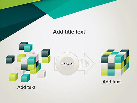 Abstract Folded Layers PowerPoint Template Slide 17