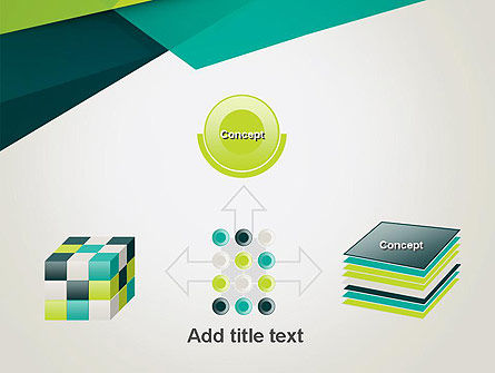 Abstract Folded Layers PowerPoint Template Slide 19