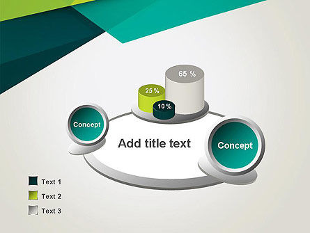 Abstract Folded Layers PowerPoint Template Slide 6