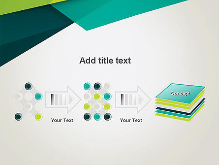 Abstract Folded Layers PowerPoint Template Slide 9