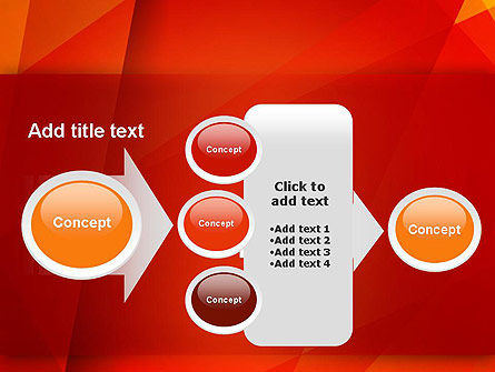 Overlapping Layers PowerPoint Template Slide 17