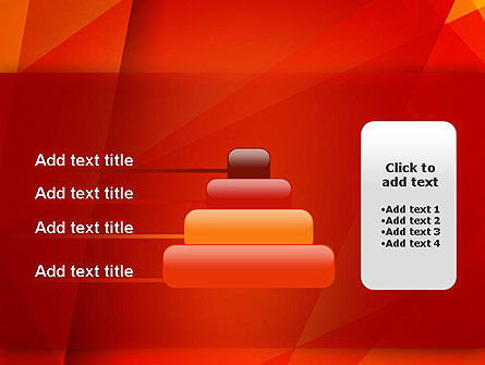 Overlapping Layers PowerPoint Template Slide 8