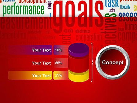Key Performance Indicators Word Cloud PowerPoint Template Slide 11