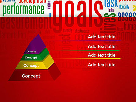 Key Performance Indicators Word Cloud PowerPoint Template Slide 12