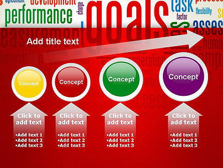 Key Performance Indicators Word Cloud PowerPoint Template Slide 13
