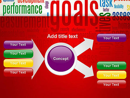 Key Performance Indicators Word Cloud PowerPoint Template Slide 14