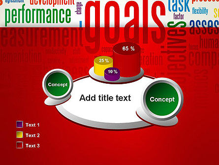 Key Performance Indicators Word Cloud PowerPoint Template Slide 16