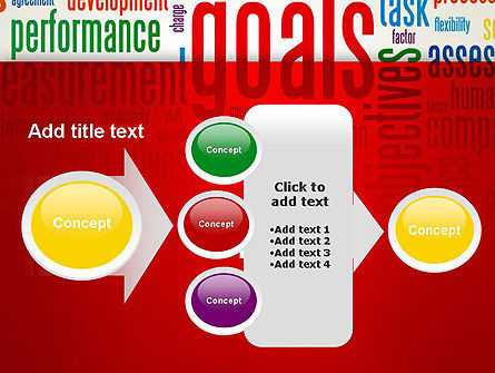 Key Performance Indicators Word Cloud PowerPoint Template Slide 17