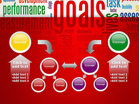 Key Performance Indicators Word Cloud PowerPoint Template Slide 19