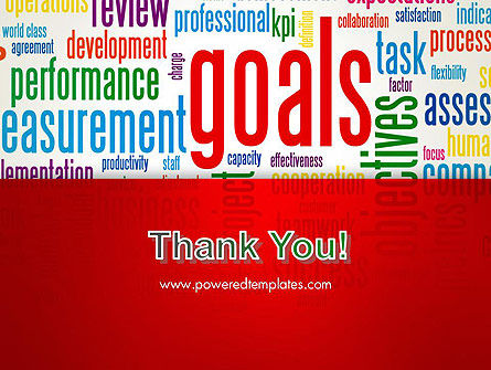 Key Performance Indicators Word Cloud PowerPoint Template Slide 20