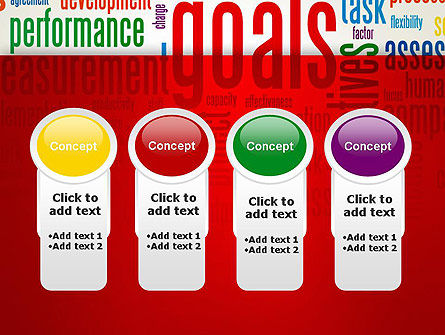 Key Performance Indicators Word Cloud PowerPoint Template Slide 5
