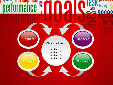 Key Performance Indicators Word Cloud PowerPoint Template Slide 6