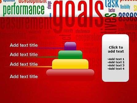 Key Performance Indicators Word Cloud PowerPoint Template Slide 8
