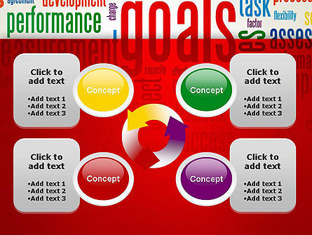 Key Performance Indicators Word Cloud PowerPoint Template Slide 9
