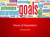 Business Concepts: Key Performance Indicators Word Cloud PowerPoint Template #12971