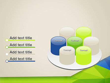 Abstract Triangular Layers PowerPoint Template Slide 12