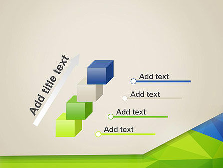 Abstract Triangular Layers PowerPoint Template Slide 14